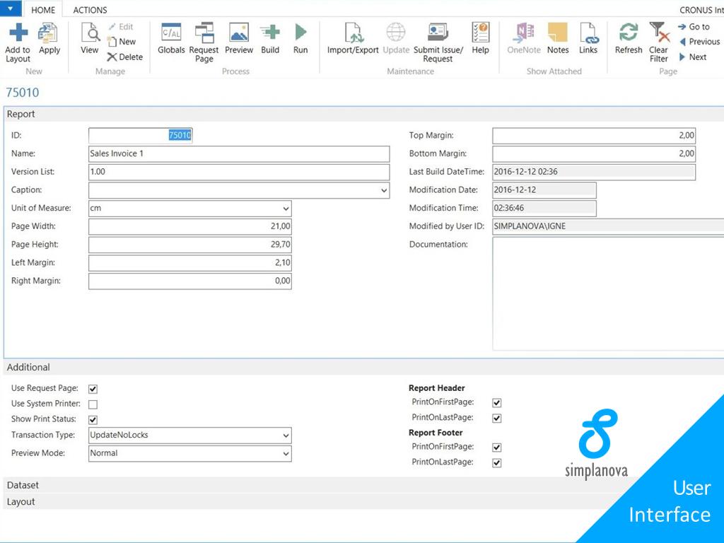 Simplanova Report Designer (v2 07) | mibuso com